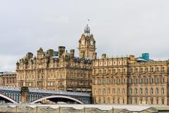 Balmoral hotel in edinburgh Stock Photos