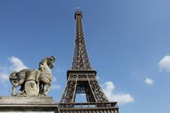Eifell tower Stock Photos