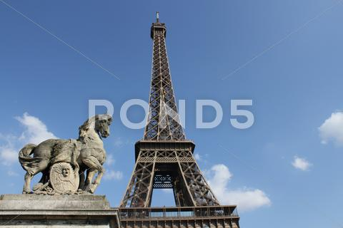 Stock photo of Eifell tower
