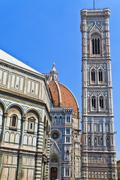 florence cathedral (duomo di firenze), tuscany - stock photo