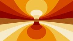 Orange drivel Stock Footage