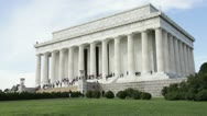 Stock Video Footage of Lincoln Memorial, Washington, DC