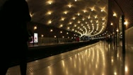Stock Video Footage of Monaco ville train station