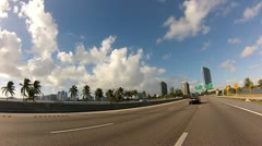 Highway 112 Miami Stock Footage