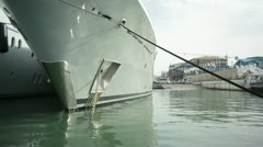 Yacht keel Stock Footage