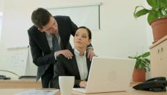 Business tenderness Stock Footage