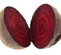 Beet on white background Stock Photos