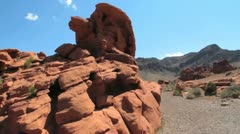 Valley of fire Stock Footage