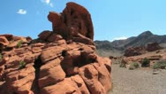 Stock Video Footage of Valley of fire
