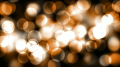 Orange Bokeh - stock footage