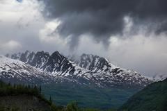 Alaskan landscapes Stock Photos