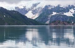 Stock Photo of glacier on alaska