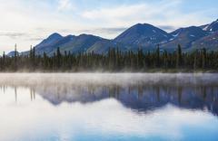 Stock Photo of lake on alaska