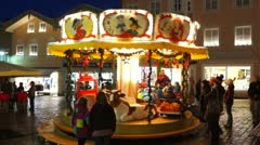 Christmas Market, Bavaria, Germany Stock Footage