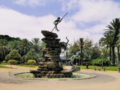 monument in las palmas, gran canaria, canary islands, spain - stock photo