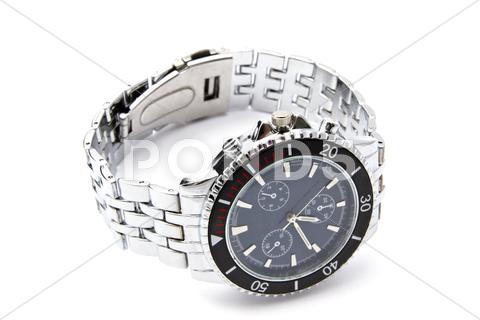 Stock photo of fashion wristwatch