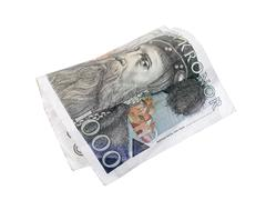 swedish kronor - stock photo