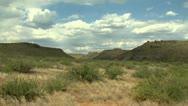 Sonoran Desert Plateau Stock Footage