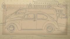 Volkswagen Beetle Stock Footage