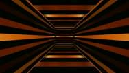Golden box stripes Stock Footage