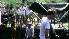 American Soldier Vietnam War 1968 (Vintage GI Home Movie Film) 6525 Stock Footage
