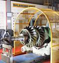 Stock Photo of Industrial balancing equipment