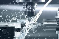 Stock Photo of cnc at work