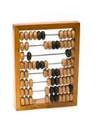 Wooden abacus. Stock Photos