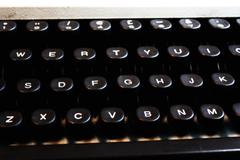 Stock Photo of Typewriter