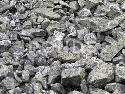 Stock photo of rocky gravel stones background