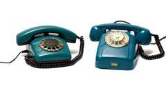 Stock Photo of telephones.