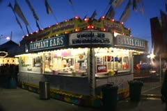 Carnival Concession Stand Stock Footage