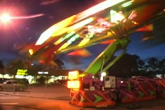 Carnival Ride 4 Stock Footage
