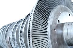 Gas turbine - stock photo