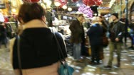Walking around Convent Garden, Christmas - 2 Stock Footage