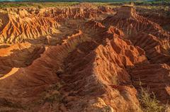Tatacoa Desert Rock Formations Stock Photos