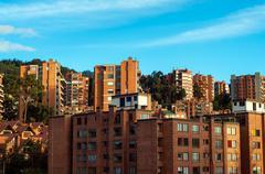 Generic Apartment Buildings Stock Photos