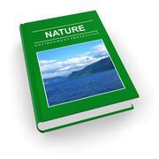 Ecological textbook - stock illustration