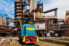Metallurgical works Stock Photos