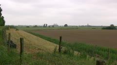 Dutch Farmland Stock Footage
