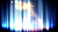 Magic blue fire loop Stock Footage