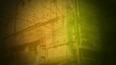 Vintage video Bangkok Stock Footage