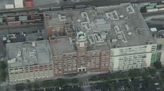 Starbucks Headquarters in Seattle, WA Aerial Stock Footage
