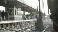 Retiro railway station, Buenos Aires. Stock Footage