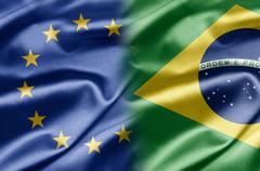 Stock Illustration of eu and brazil
