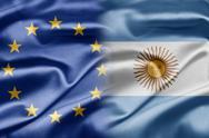 Eu and argentina Stock Illustration