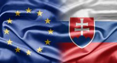 Eu and slovakia Stock Illustration