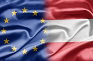 Eu and austria Stock Illustration