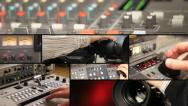 Television Equipment - multiscreen Stock Footage