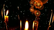 Sparkling wine. New year's eve and Merry Christmas background. Stock Footage